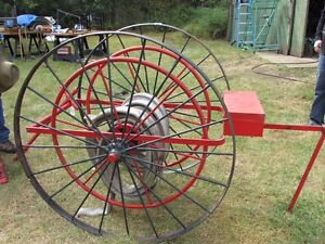Medalta, Fire Hose Cart, Dentist's Chair & Many More Antiques