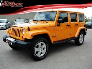 2012 Jeep Wrangler | UNLIMITED | SAHARA | 2 TOPS