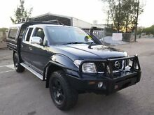 2008 Nissan Navara D40 ST-X Blue 6 Speed Manual 4D UTILITY Silverwater Auburn Area Preview