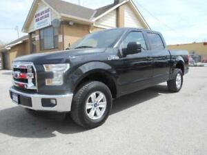 2015 FORD F-150 XLT 4X4 Crew Cab 5.5Ft Box Certified 133,000KMs