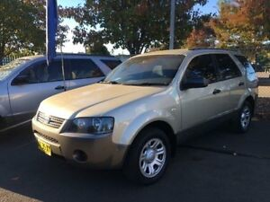 2008 Ford Territory SY MY07 Upgrade TX (RWD) Gold 4 Speed Auto Seq Sportshift Wagon Campbelltown Campbelltown Area Preview