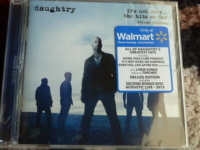 Daughtry It's Not Over the Hits So Far Deluxe 2 Disc