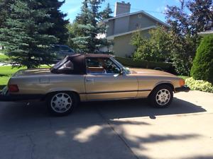 Mercedes 1980 450 sl