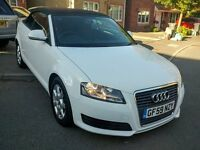 Audi A3 2.0 TDi DIESEL Cabriolet - Recent Cambelt Change!! £1,000 behind Retail Selling Prices!