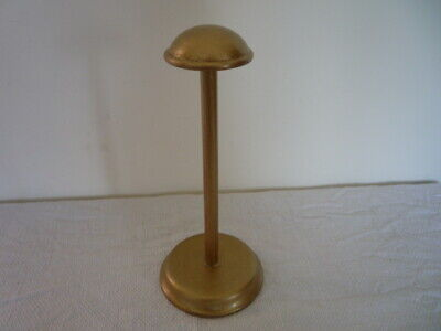 Vintage English Wood Millinery Hat Stand Shop Window Display Prop Chic Interior