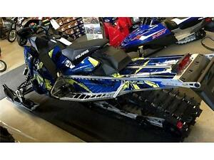 One of a kind 2017 Polaris 800 Assault Elec Start 1.35 in Track