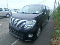 2006 (06) NISSAN ELGRAND Highway Star 3.5 V6 Automatic Sunroof Curtains 4WD 4x4