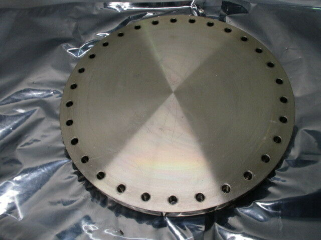 Blank Off Pumping Flange Cover Pumping Port, Gate Valve, Turbo, High VAC, 100989