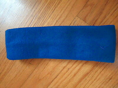 Used, Winter Blue Fleece Headband Ear Warmer 3 Inch Wide for sale  Macomb