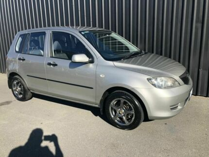 2004 Mazda 2 DY Neo Silver 5 Speed Manual Hatchback