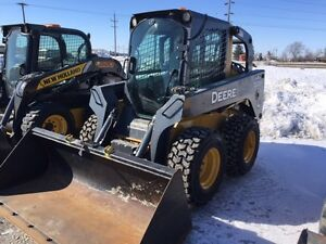 JD 320D SKID STEER , bobcat
