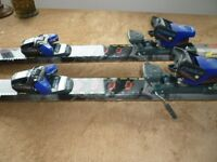 Skis and Bindings.