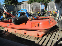 1981 Argo Tub Frame and parts for sale
