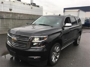 2015 Chevrolet Tahoe LTZ 4x4 black on black Loade NAV leather