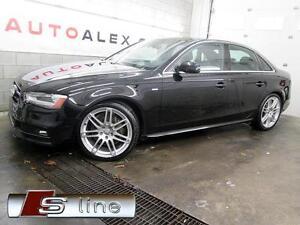 2013 Audi A4 S-LINE 95$/SEM NAVIGATION QUATTRO CUIR TOIT