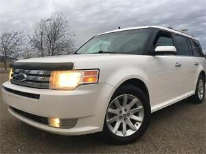 2009 Ford Flex SEL = AWD = HEATED LEATHER = DVD = 3RD ROW SEAT