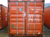 40FT USED HIGH CUBE SHIPPING CONTAINER 3650.00/EACH - SASKATOON
