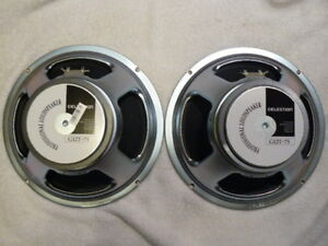 Celestion - WGS ET-65 Speakers and Cabs