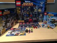 3 (Retired) Batman Lego Sets with Boxes and Manuals
