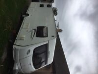 Lunar Quaser 546 6 berth caravan, with motor mover and other extra's including Vango Air 420 Awning.