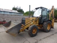 Ford 555C 4WD Digger
