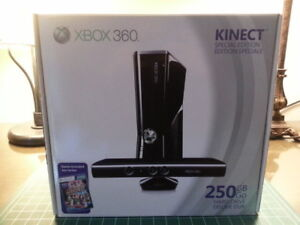 (NEW SEAL RARE) XBOX 360 S 250GB WITH KINECT SPECIAL ED.