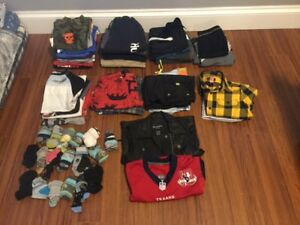 BUNDLE 1:  BOYS SIZE 8 ALL YOU NEED CLOTHES