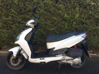 Cbt Learner legal Sym Jet 4 125 moped/scooter low mileage