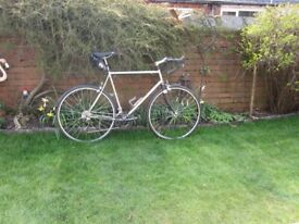 Titanium road bike large