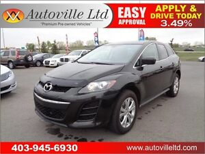 2011 Mazda CX-7 GS AWD LEATHER SEATS SUNROOF Everyone Approved