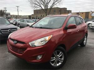 HYUNDAI TUCSON GLS 2011/AUTO/SEMI CUIR/GPS/CAMERA/BLUETOOTH/WOW!