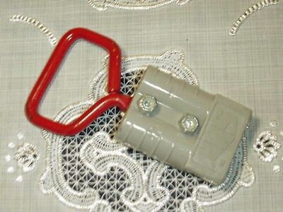Forklift Battery Anderson 50 Amp Connector Gray For With Sy50h Handle New
