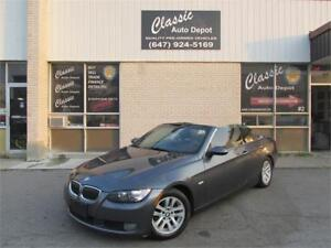 2007 BMW 328I CONVERTIBLE *LEATHER,HARD TOP,PRICED TO SELL!!!*