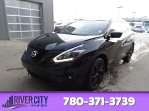 2018 Nissan Murano AWD SL MIDNIGHT Leather,  Panoramic Roof,  Ba
