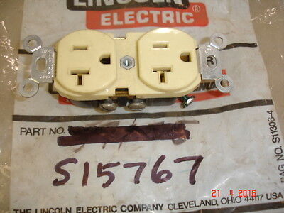 Lincoln S15767 20 Amp 125 Volt Female 21 Receptacle For Engine Driven