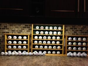 Golf Balls Collection with 3 displayers