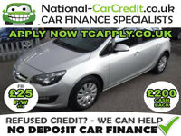Vauxhall Astra 1.7 CDTi ecoFLEX 16v Exclusiv 5dr (start/stop) (silver) 2013