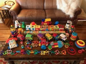 Huge Batch of Baby Toddler Toys Fisher Price, Discovery Toys
