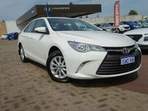 2016 Toyota Camry ASV50R Altise White 6 Speed Sports Automatic Sedan Morley Bayswater Area Preview