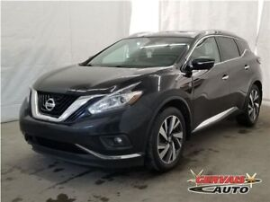 Nissan Murano Platinum AWD GPS Cuir Toit Panoramique MAGS 2015