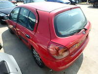 Nissan Almera 1.8 Tailgate In Red Breaking For Parts (2003)