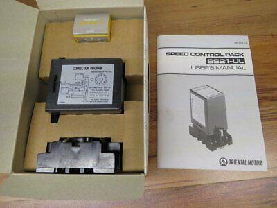 Speed Control Pack Ss21-ul-sn Oriental Motor. New In Box