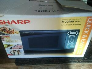 Sharp r209 Microwave