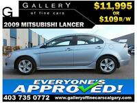2009 Mitsubishi Lancer GT $109 BI-WEEKLY APPLY NOW DRIVE NOW