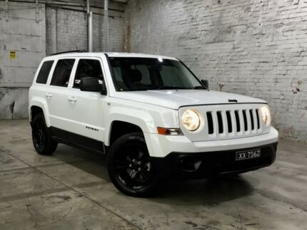 2014 Jeep Patriot MK MY14 Blackhawk CVT Auto Stick 4x2 White 6 Speed Constant Variable Wagon Mile End South West Torrens Area Preview