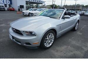 2012 Ford Mustang CONVERTIBLE-V6-LEATHER-ROUSH EXHAUST