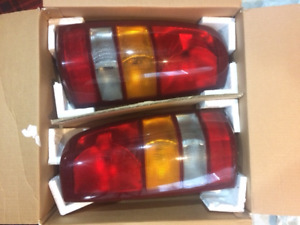 Tail lights for 1999/2001 Chevy pick up