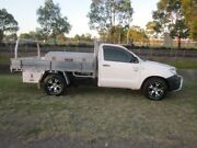 2009 Toyota Hilux TGN16R 09 Upgrade Workmate White 5 Speed Manual Cab Chassis Mayfield East Newcastle Area Preview