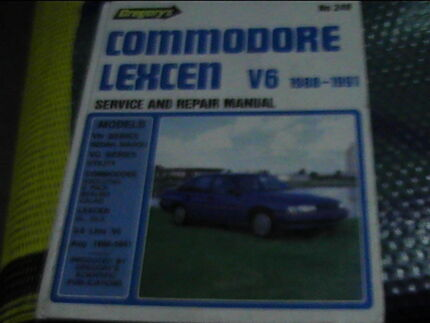commodore lexen V6******1991 repair manual gregorys #249 Belmont South Lake Macquarie Area Preview