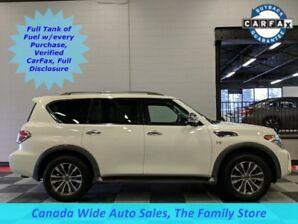 2018 Nissan Armada 4X4,SL,Navigation, Sunroof, 3rd Row Seating, Heate